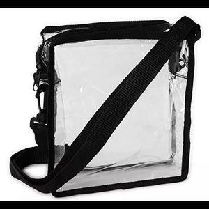 Handbags - Clear Cross-Body Messenger Shoulder Bag Stadium Ap
